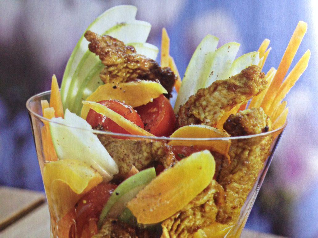 Émincé de dinde au curry