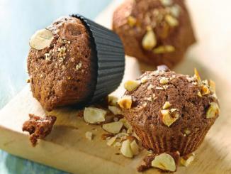 muffins chocolat noisette