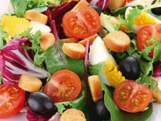 salade au vinaigre de miel