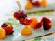 Mini-brochettes magret tomates et melon