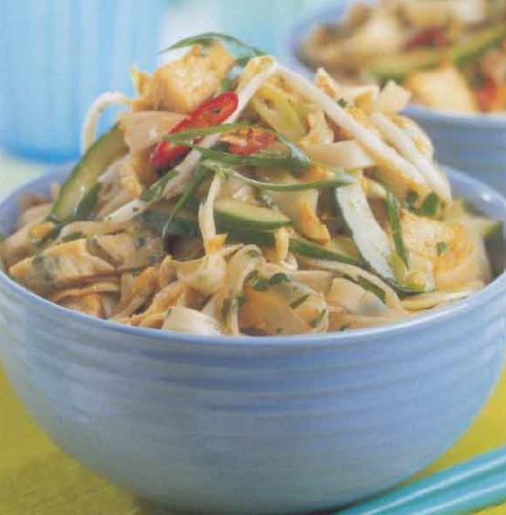 Salade végétarienne à la thaïlandaise
