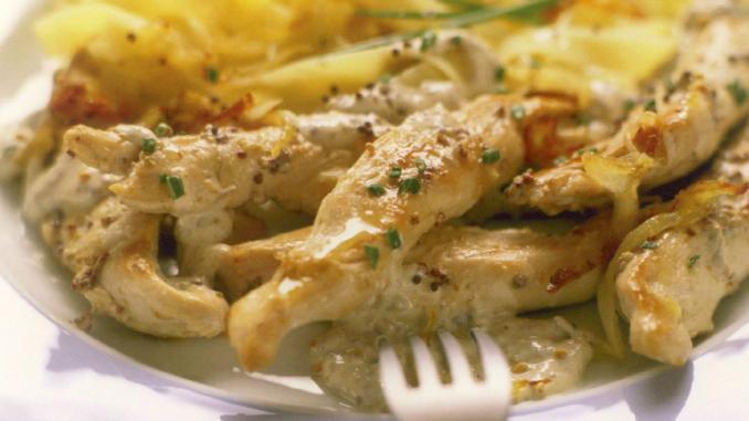 blancs de poulet aux amandes
