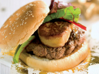 hamburger boeuf façon Rossini