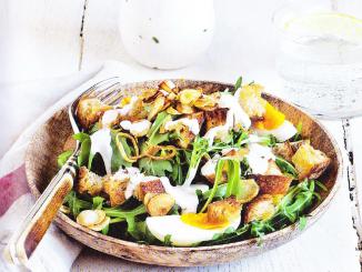 salade aux oeufs et sauce tartare