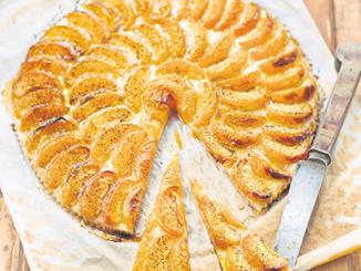 tarte fine vanillée aux abricots