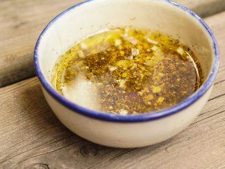 vinaigrette à la moutarde et aux épices