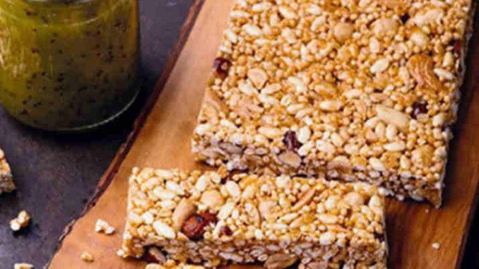 Recette Barres de céréales sans gluten