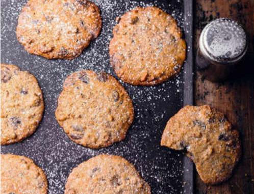Recette Cookies chocolat noix sans gluten