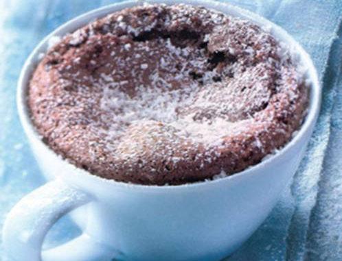 Recette Moelleux chocolat coco façon mug cake