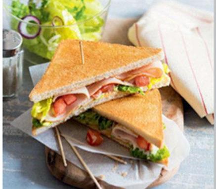 recette sandwich croque malin à déguster sur le pouce