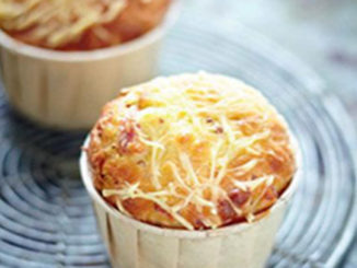 recette muffins lardons fromage moutarde