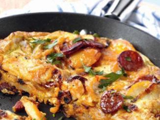 recette-tortilla-chorizo-oignons
