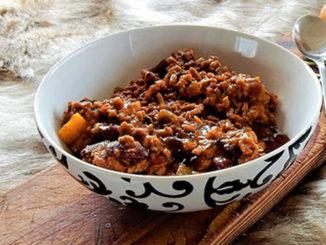 Chili con carne et riz - WW 6 SP