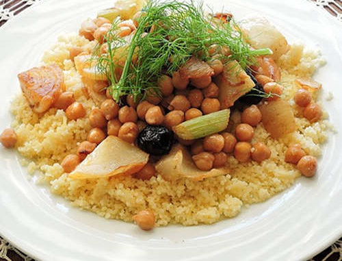 Couscous au poulet - WW 6 SP